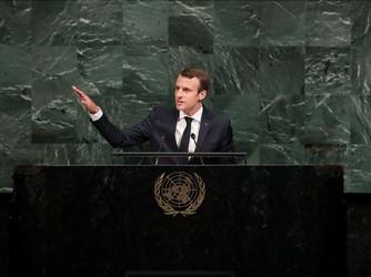 emmanuel Macron onu 3