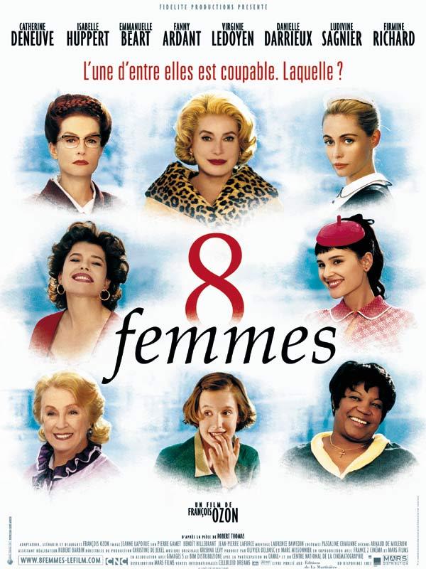 25 films Huit Femmes (2002)