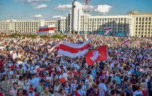 biélorussie manifestants cover