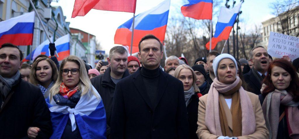 russie navalny manifestation